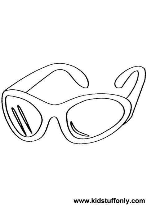coloring page sunglasses sunglasses coloring download sunglasses coloring