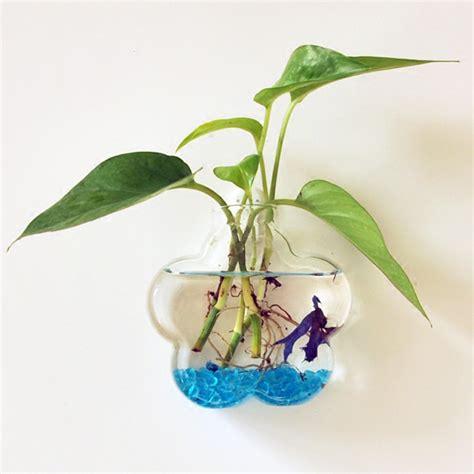 vaso fiore fiore a parete fiore di vetro a forma di vaso di casa