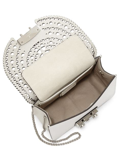 Furla Metropolis Slingbags 2321 furla metropolis bolero mini leather crossbody bag in white lyst
