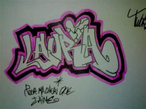 imagenes te amo laura graffitis con el nombre de laura imagui