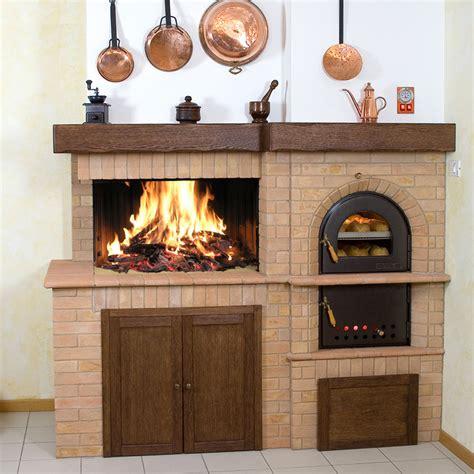 rivestimento forno a legna caminetto modello magic con panca outlet filottrani