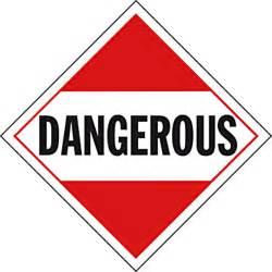 Interior Accessories For Trucks Quot Dangerous Quot Placard Iowa80 Com