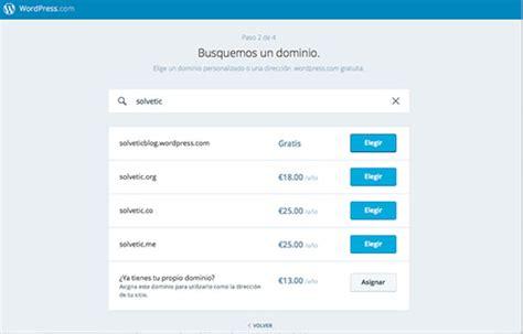 tutorial wordpress edin como crear un blog en wordpress solvetic