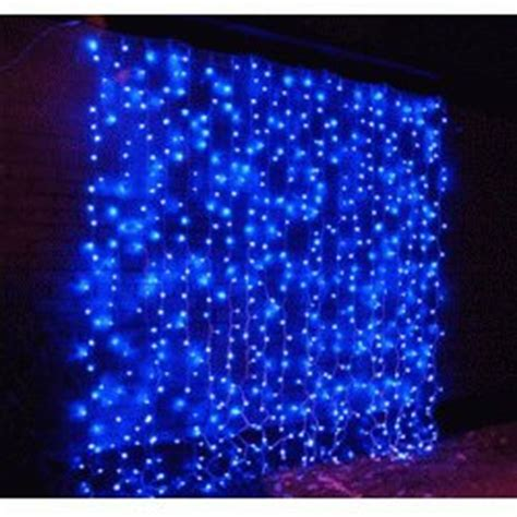 led curtain light led drape light in blue id 5152927