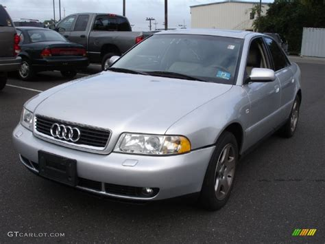 2000 audi a4 sedan 2000 light silver metallic audi a4 2 8 quattro sedan
