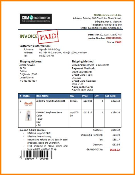 paid in receipt template paid invoice template robinhobbs info