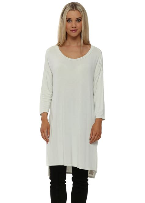 Flavia Top a postcard from brighton ivory flavia slouch top