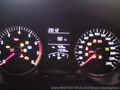 Kontrollleuchten Auto Diesel by Jede Menge Kontrollleuchten Salamipizza
