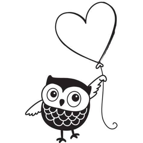 owl rubber st free gel pen coloring pages