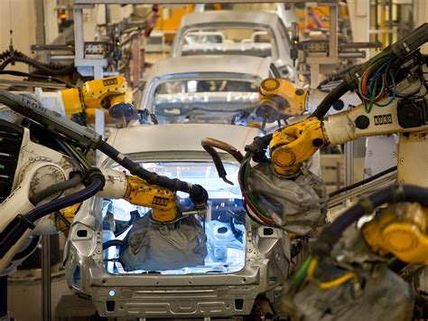 car factory worker killed by robot at volkswagen car factory the