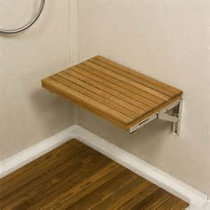 wall bench wall mount fold down teak shower bench teakworks4u