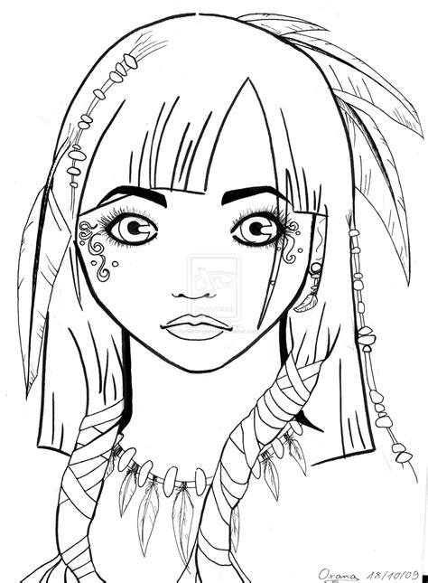 navajo indian coloring pages coloring pages