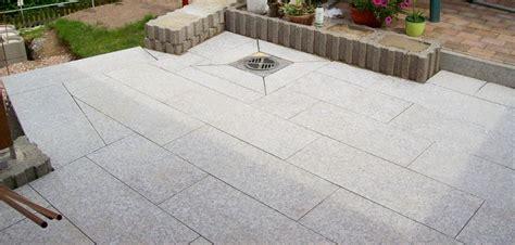 terrasse granit klick fliesen terrasse granit verlegen wohndesign und