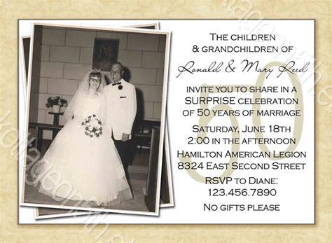 surprise anniversary party invitations gangcraft net