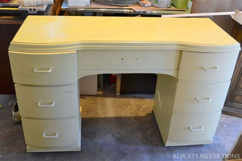 how to paint a desk chalk paint powder desk makeover hometalk