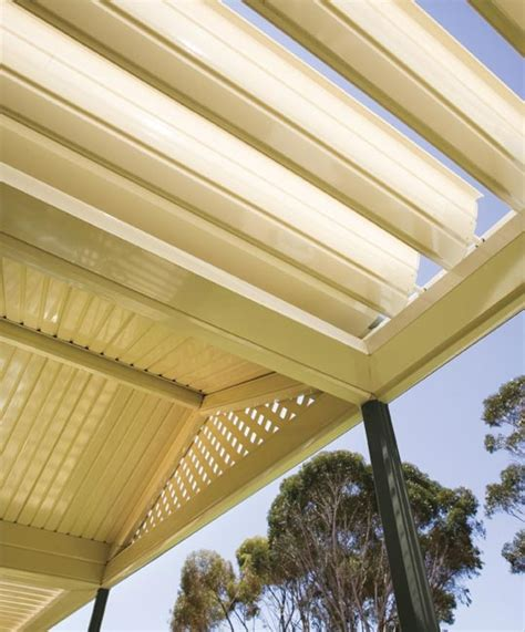 stratco awnings stratco outback sunroof awnings carports pergolas