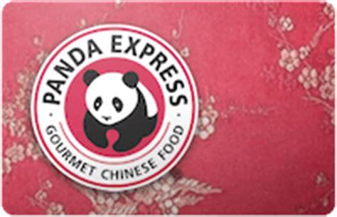 Panda Express Gift Card - buy panda express gift cards discounts up to 35 cardcash