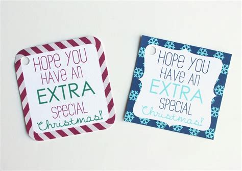 extra large printable christmas tags extra gum printable gift tags cutesy crafts