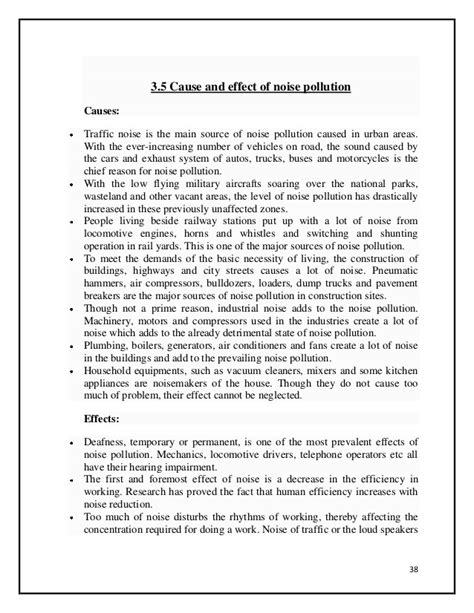 Noise Pollution Essay by Write A Brief Essay On Noise Pollution Essay On Noise Pollution Toreto Co Ayucar