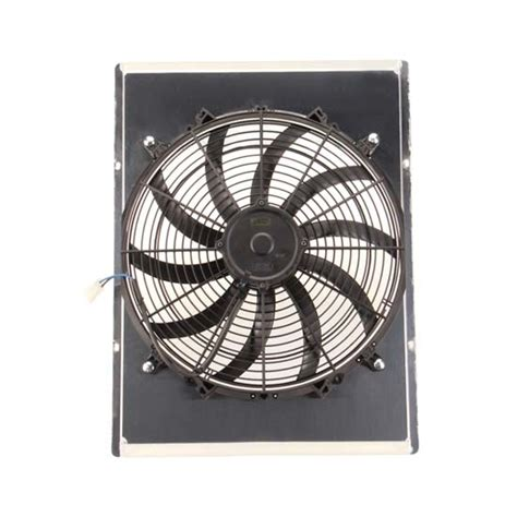radiator and fan combo afco 80417fanz fan shroud combo for radiators ebay