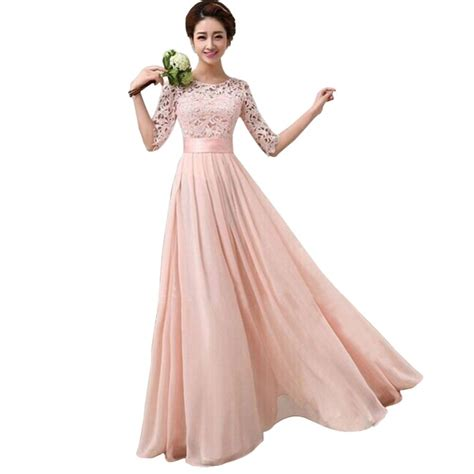 Longdress Pantai 8 sleeve gown evening dress lazada ph