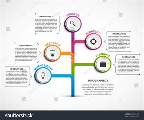 Infographic Design Organization Chart Template Infographics Stock Vector 508312372 Shutterstock Organization Chart Design Template