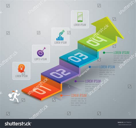 Infographic Design Template Marketing Icons Business Stock Vector 267796919 Shutterstock Remodeling Template