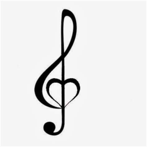 treble clef heart tattoo designs 8 unique treble clef designs and ideas
