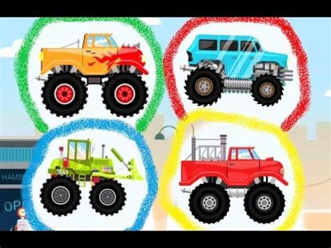 monster truck racing games for kids 31 best images about monster truck car games cartoon