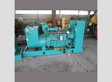 Cummins Generator Supplier Worldwide | Used 125 kW Diesel ... 250 Kw Generator Used