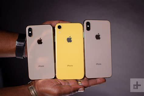 apple iphone xs vs iphone xs max vs iphone xr digital trends