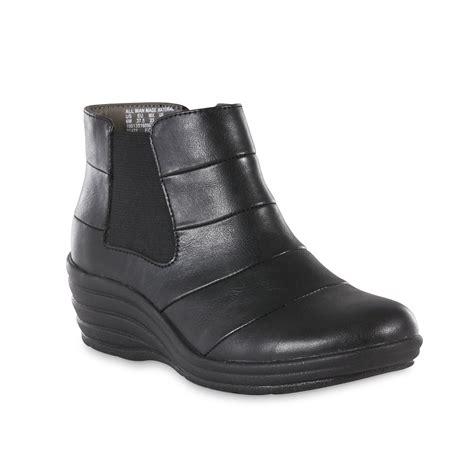 i love comfort boots i love comfort women s fiona wedge boot black shop