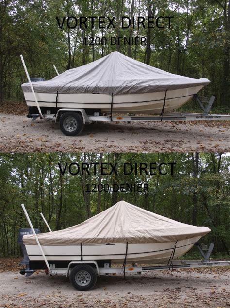 vortex boat covers vortex heavy duty 1200 denier center console boat cover