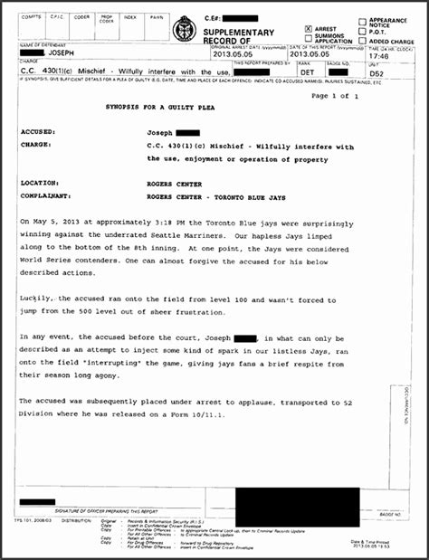 arrest report template word 10 crime report template sletemplatess sletemplatess