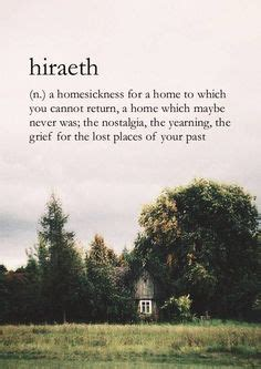 Garden State Home Quote Quotes About Home Definition For Hiraeth N A