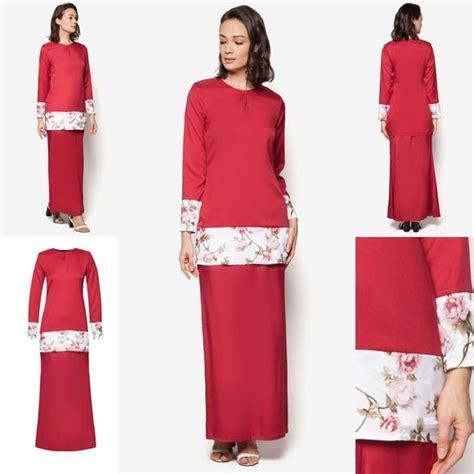 Baju Kurung Style Terkini baju kurung moden terkini hari raya 2016 fesyen trend terkini baju kurung