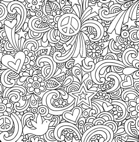 white pattern drawing раскраска сердечки цветы звезды