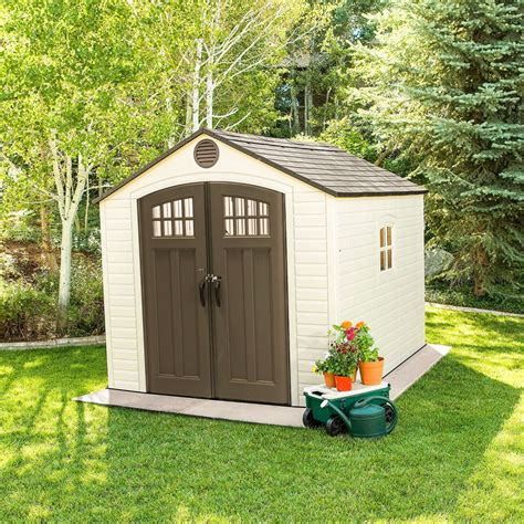 lifetime    deluxe shed