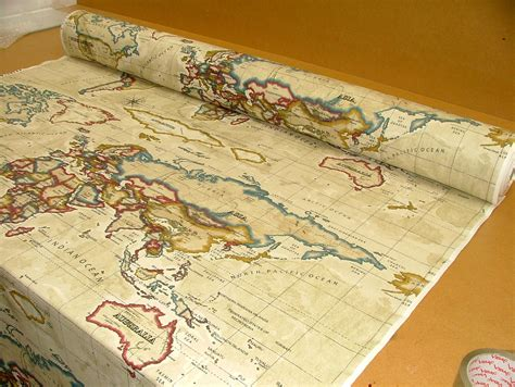 world map upholstery fabric map fabric maps and world map fabric on pinterest