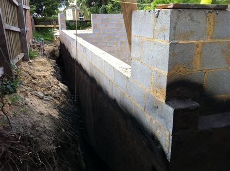 concrete block waterproofing f e w waterproofing