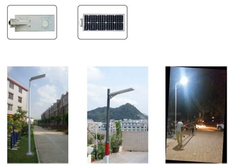 30w All In One Solar Led Street Lights For India Nigeria Solar Lights Thailand
