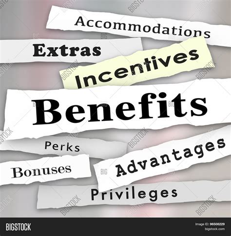 Penelopes Perks Make Headlines by Benefits Incentives Bonuses Extras Image Photo Bigstock