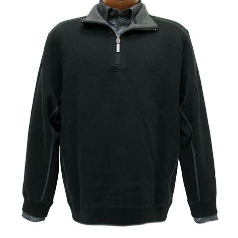 Sweater Xiaoguizu Black Material 100 Cotton 4 S F X Fusion 100 Cotton Reversible 1 4 Zip Mock