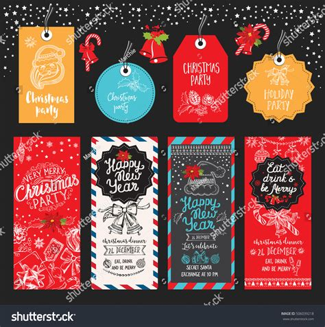 restaurant for christmas party restaurant brochure menu template vector stock vector 506039218