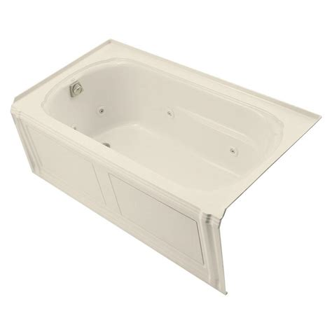 kohler portrait bathtub kohler portrait 5 ft acrylic left drain rectangular