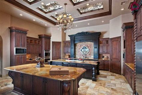 Tuscan Kitchen Island by 30 Custom Luxury Kitchen Designs That Cost More Than 100 000