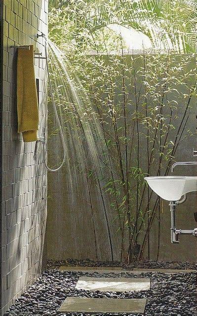 amazing outdoor showers homedesignboard