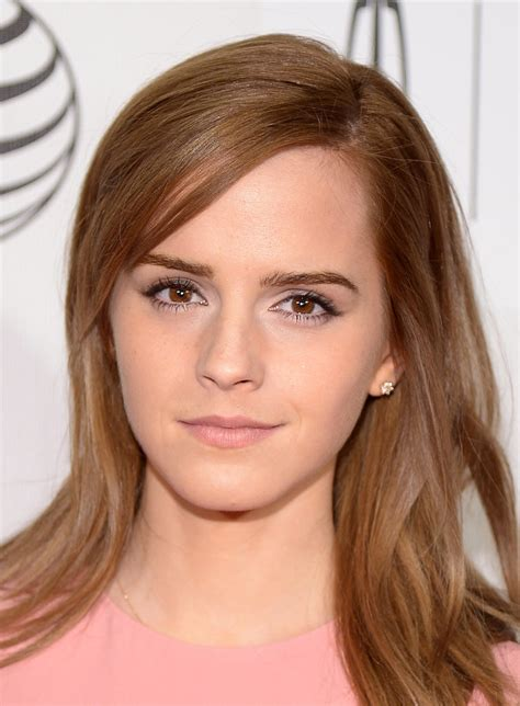 emma watson looked pretty in pink see all the stars at