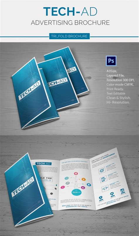 Advertisement Brochure Templates Free by 26 Best Advertising Brochure Templates Free Premium