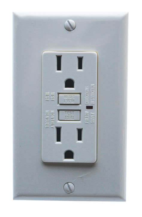 Gfci Receptacles In Kitchen by Ground Fault Circuit Interrupter Gfci Outlets 20